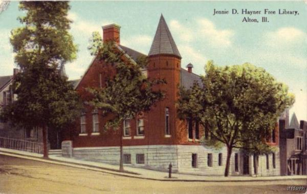 0. 125 years of the Jennie D. Hayner Memorial Library