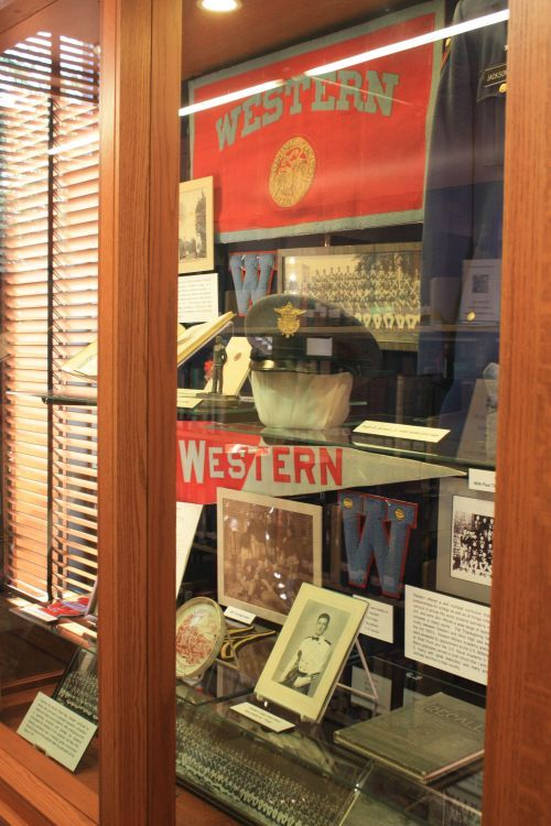 western-military-academy-display-case
